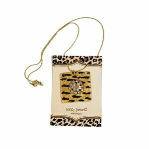 Tiger Frenzy by Jazzy Jewelz Tiger Necklace